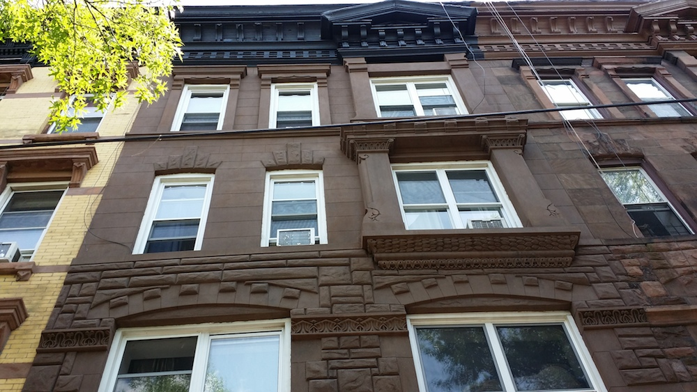 brownstone facade renovation